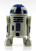 Cute robot model USB 2.0 Memory Stick Flash pen Drive 4GB 8GB 16GB 32GB