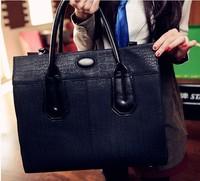 Fashion Women's Handbag Cross-body shoulder bags Crocodile Pattern Vintage Motorcycle Message Bag