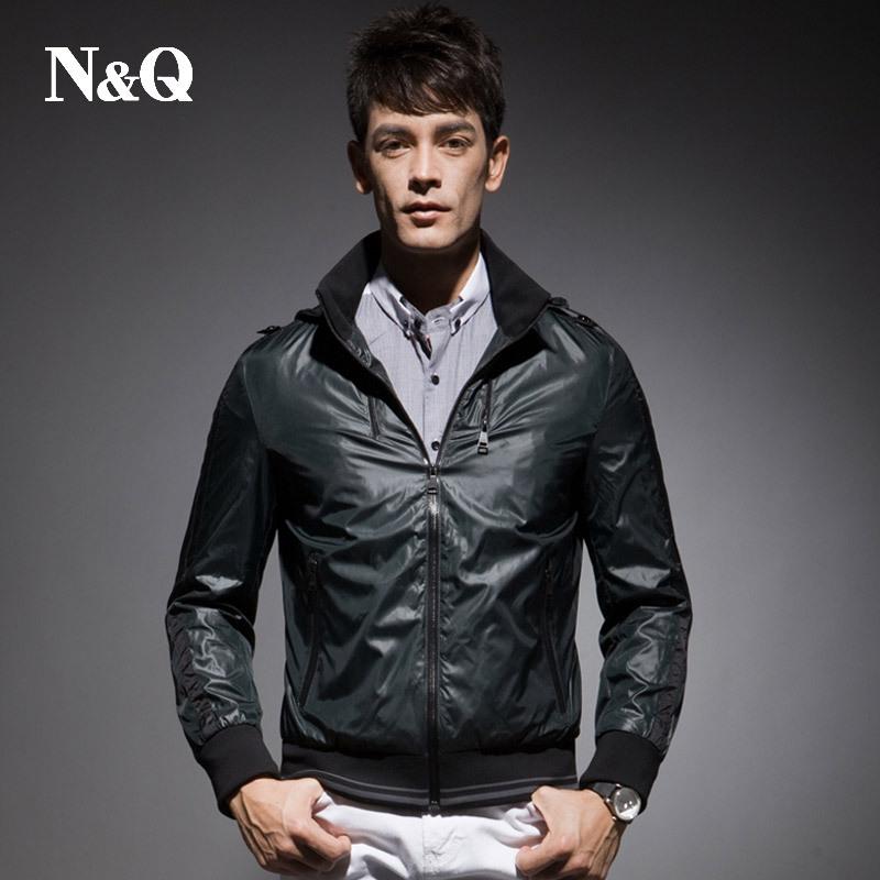 Free shipping xxxl xxxxl brand 5xl Nuoqi men s clothing fashion casual plus size 4xl jacket