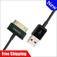 100% Free shipping Genuine Original P1000 Mobile phone data cable for Samsung P1000 P6200 P6800 P7500 P7300 P739
