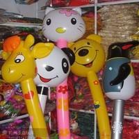 Inflatable animal long-handled animal inflatable deer