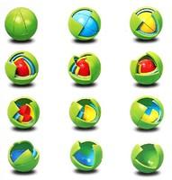 Free Shipping Novelty FROG LEON Design Magic Ball, Kids Edcutaional IQ Ball Toy