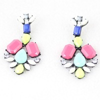 Min. Order is $10 (mix order). New&European and American fashion color earrings!!