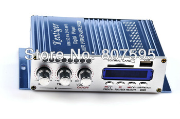 Free shipping 12V  HiFi Super Bass Stereo Audio Car Amplifier/ Auto Sound Enlarger car auto  amplifiers