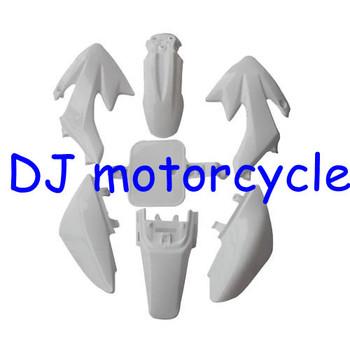 Most Popular CRF50 Dirt Bike Plastic Cover Kits Fit For Honda MOtocross XR50 150CC 110CC Mini Motocross White