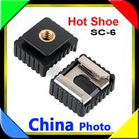 10pcs SC-6 Hot shoe Adapter for Sony Minolta F42AM F56AM Speedlite to Standard