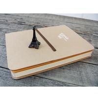 Zakka notebook cowhide paper bandage notepad diary hornier cowhide paper notebook