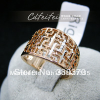 CrWive fashion Hollow maze rings