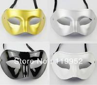 Free shippingVenetian mask masquerade party supplies plastic half-face mask supplies 10pcs/lot via CPAM