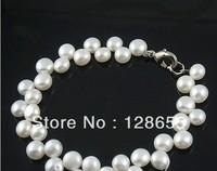 OL Fashion popular freshwater pearl jewelry pearl bracelet    Free shipping