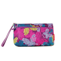 2013 day clutch women's terylene handbag casual three-color small bag cosmetic bag