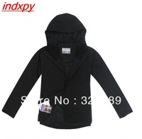 2013 Free Shipping CPA Hot Clothes Black Salomon Men Breathable and Comfortable Windproof jacket waterproof Coat For Men M-XL