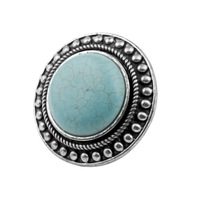 Free Shipping 2013 New Arrival Fashion Vintage Turquoise Rings for Women,Size Can Adjustable T5R05