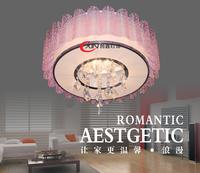 K9 Crystal bedroom lamp romantic ceiling light modern brief lamps fashion book lighting living room lights