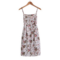 Free shipping!/2013 New Summer women girl Fashion 100%cotton sleeveless Dress
