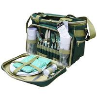 Outdoor tableware set picnic bag insulation bag fresh bag ice pack camping