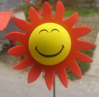 Sun Shine Sun Glasses Face Antenna Ball Topper car decoration Antenna Ball Toppers exterior aerial ball car aerial doll