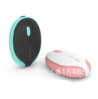 New Arrival .Wireless Mini Cute 2.4G Blue/Pink Mouse . Free Shipping