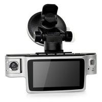 "Free Shipping X9000 HD CAR DVR On Sale 2.7""LCD screen 120 degree dual video cameras dvr LED Night Vision"