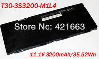 New 6Cell Original  Black Laptop Battery For UNIWILL ECS T30IL1 /ADVENT ALTRO T30-3S3150-B1Y1 T30-3S3200-M1L4
