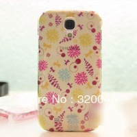 Fresh raindrop-shaped floral case for Samsung I9500 galaxy SIV phone shell mobile phone shell shell protective sleeve S4