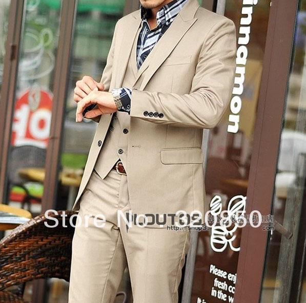 Custom Cheap Black Tuxedo Six Button Tail Groom Tuxedos Handsome ...