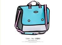 FASHION  Comic book bag candy color bag 3d  handbags messenger small bags 3 colors to choose,drop shipping