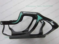 Free Shipping! high quality Bianchi full carbon water bottle cage, bike water botttle cages fit for sky 2pcs/lot Big Discount