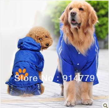HOT SELLING high quality fashion raincoat style pet clothes,pet apparel clothes,free shipping,wholesale