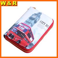 design waterproof clutch travel lady wallet security short wallet women coin purse