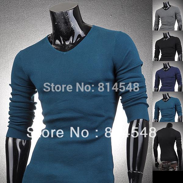 Мужской пуловер L&B colloar HD-8085