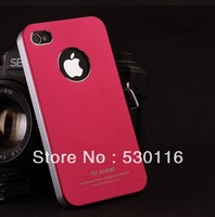 Factory Price !!! Air Jacket Plating Aluminum Hard case for iPhone 5 5g back cover slim free shipping