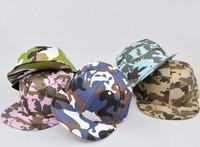 2013 new arrival camouflage print hats k-pop baseball cap hiphop cap hip-hop cap flex fit flat brim Snapback Baseball cap bboy