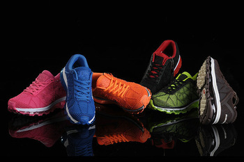 2013 the latest fashion breathable wear earthquake and running shoes