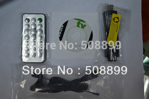 Free Shipping USB Receiver Europe DVB - T Type Television RECEIVER+Dropshipping(China (Mainland))