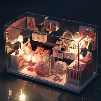 Assembled model diy handmade model birthday gift for girls