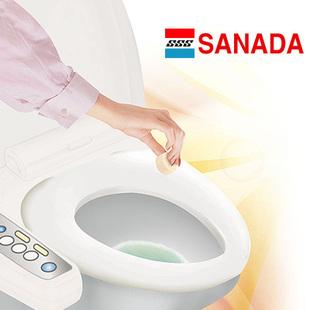 Sanada toilet foaming cleanser ball bleach antibacterial antiperspirant acid disincrustant(China (Mainland))