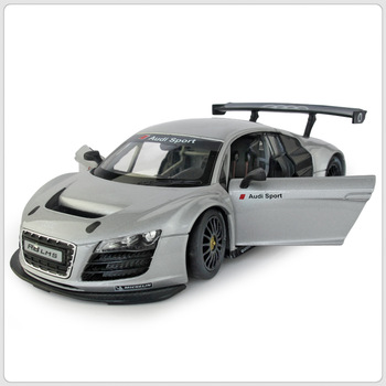 1 : / 24 Audi R8 LMS Licensed Best Collectables Toy Metal Diecast Casting Style Cars Models for Kids Children's Free Shipping