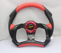 Free shipping 13-inch MOMO steering wheel steering wheel modified racing steering wheel imitation good quality
