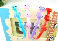 Free shipping Hot Selling fashion headbands Assorted colors  hello kitty  Candy Color Hairbands