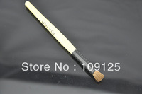 Animal wool makeup brush flat brush eye shadow brush milky white rod