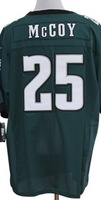 Retail&Wholesale Free shipping men elite jerseys LeSean McCoy #25 green american football jersey Stitched Jersey mix order