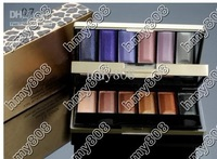 free shipping hot MAKEUP Leopard 6+6 colors eye shadow Palette (100 pcs)
