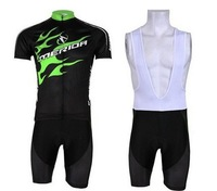 Free Shipping 2014 NEW! Merida Black Bib short sleeve cycling jerseys wear clothes bicycle/bike/riding jerseys+ Bib pants shorts