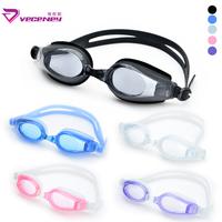 Goggles hd waterproof anti-fog swimming goggles anti-uv casual swimming glasses