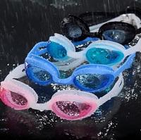 Boxed swimming glasses anti-fog waterproof glasses silica gel goggles adult goggles