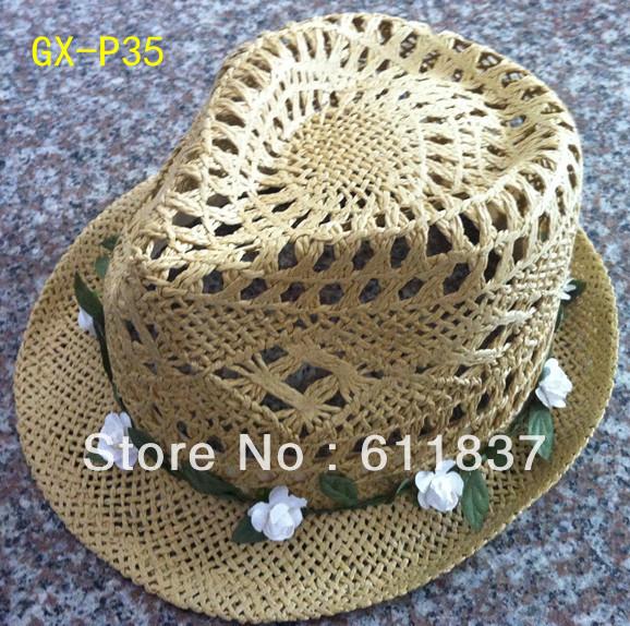 Supply paper hat,fedora hat(China (Mainland))
