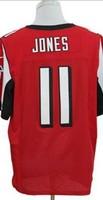 Retail&Wholesale Free shipping men elite jerseys Julio Jones #11 red american football jersey Stitched Jersey mix order