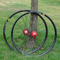 bike wheels Xm319 rim koozer hubs cn spoked wheel red discount wheels