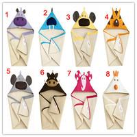 Retail-8 styles Doomagic Hooded baby bathrobe/Boy's bathrobe/Kid bath robe/Infant & toddler's bath towel